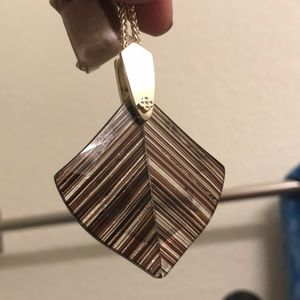 Kendra Scott Arelet pendant necklace NWT